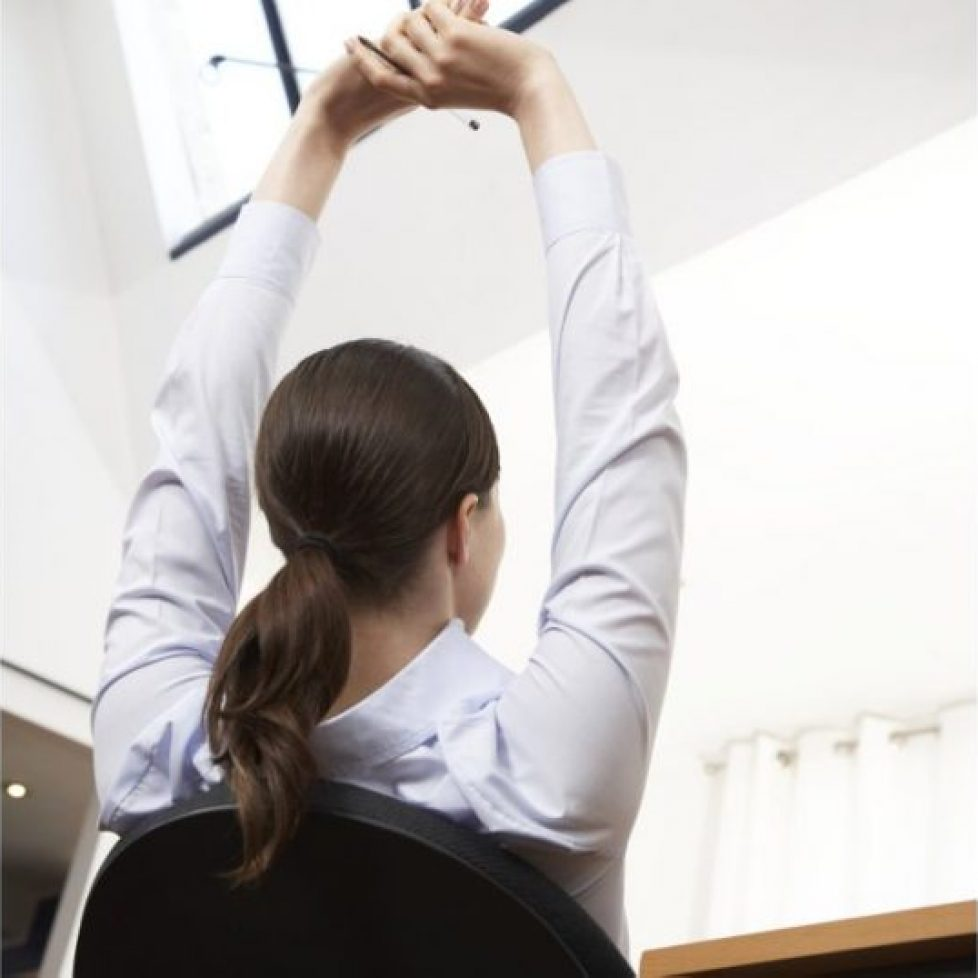 Toning Exercises You Can Do Your Desk 1