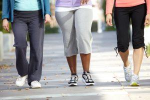 3 Women Walking Legs