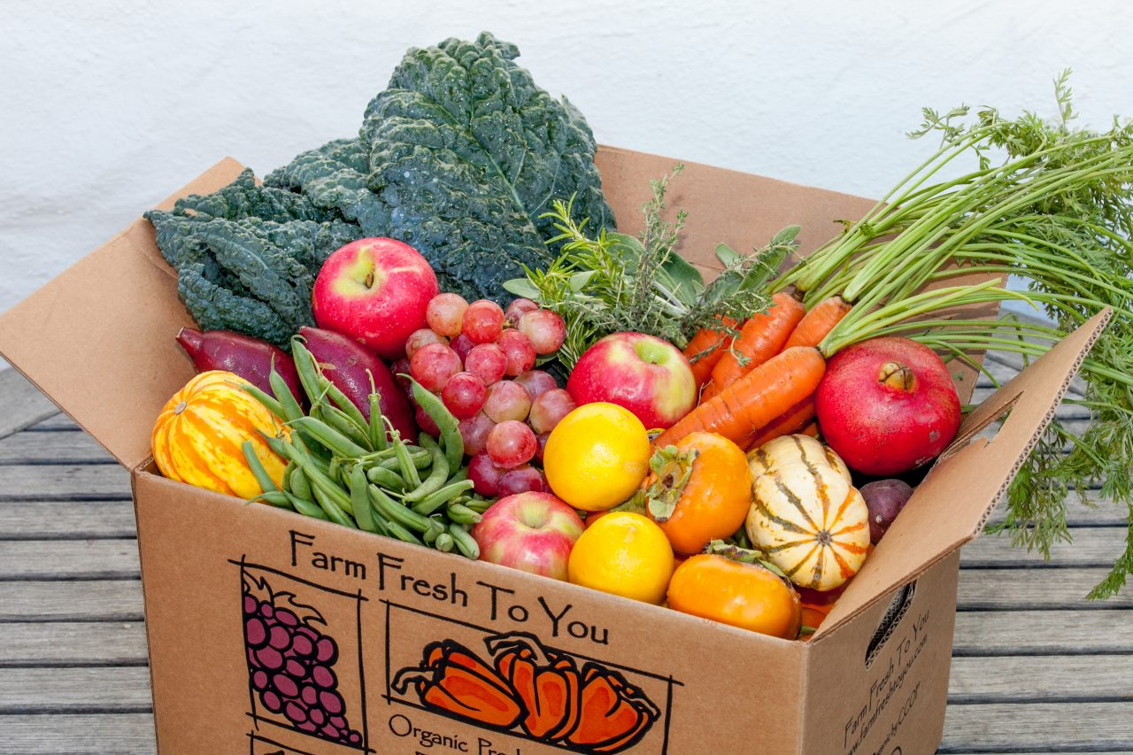 Farm Fresh to You Produced Delivered to Your Doorstep!